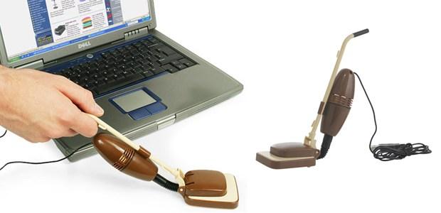 A mini USB vacuum