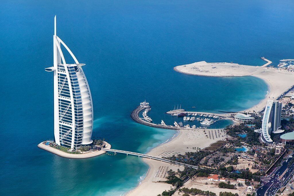 Burj Al Arab in Dubai UAE