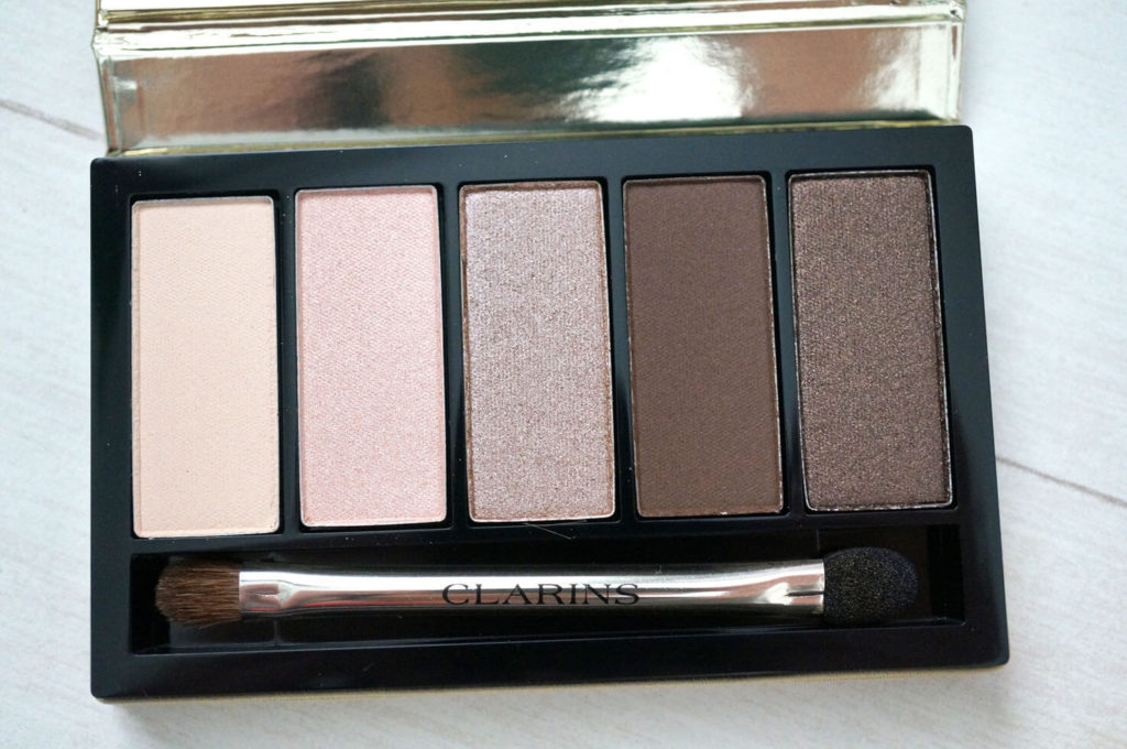 Clarins 4-Colour Eyeshadow Palette Limited Edition