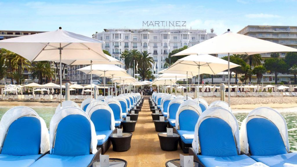 Grand Hyatt Cannes Hotel Martinez in Cannes, France