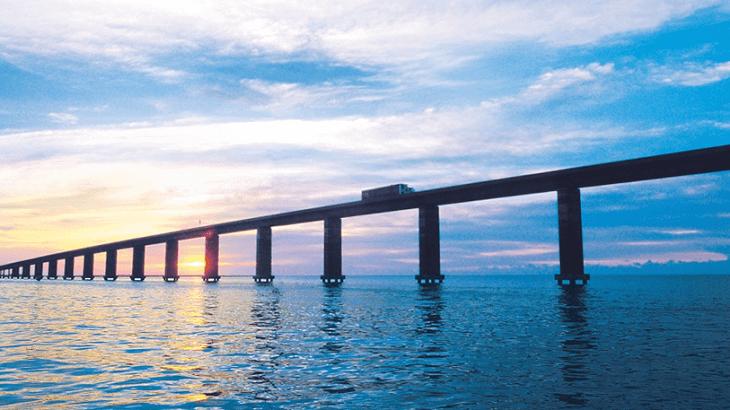 Manchac Swamp Bridges