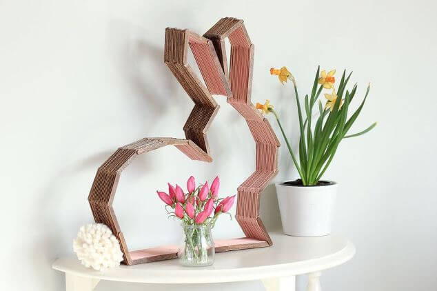 Modern Bunny Decor