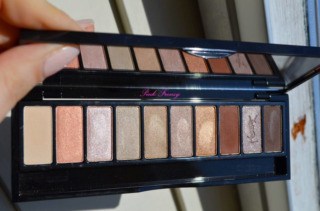 YSL Couture Palette in Rosy Contouring