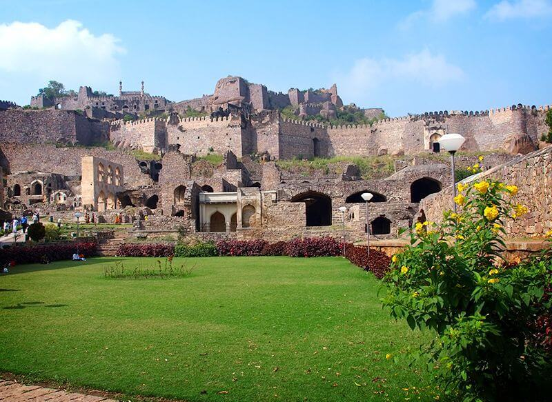 Golconda Fort Images