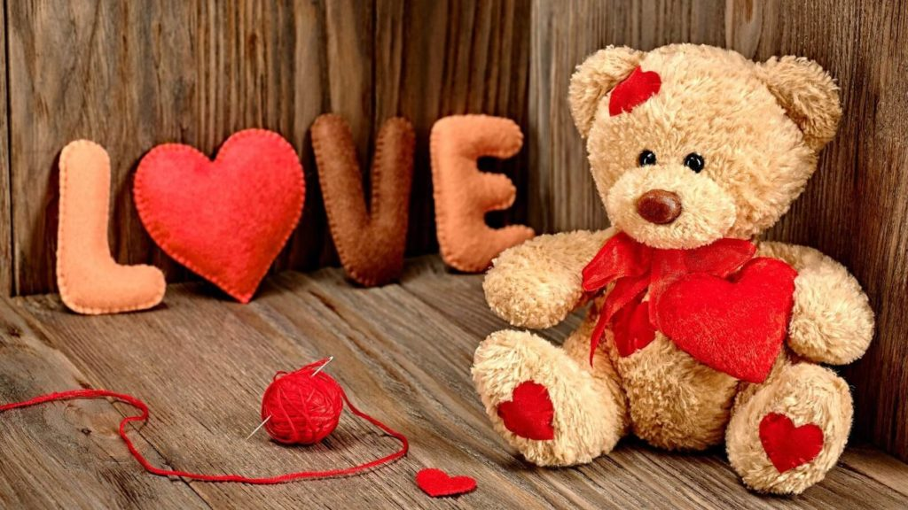 Archies Special LOVE Valentines Teddy