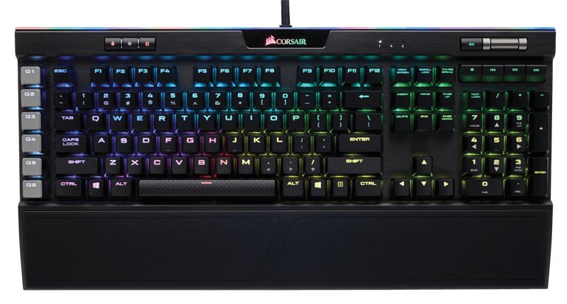 CORSAIR K95 RGB PLATINUM (The Best Gaming Keyboard 2018)