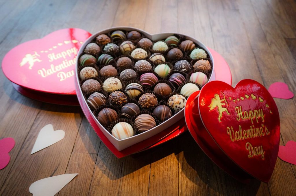 Heart Box Of Chocolates