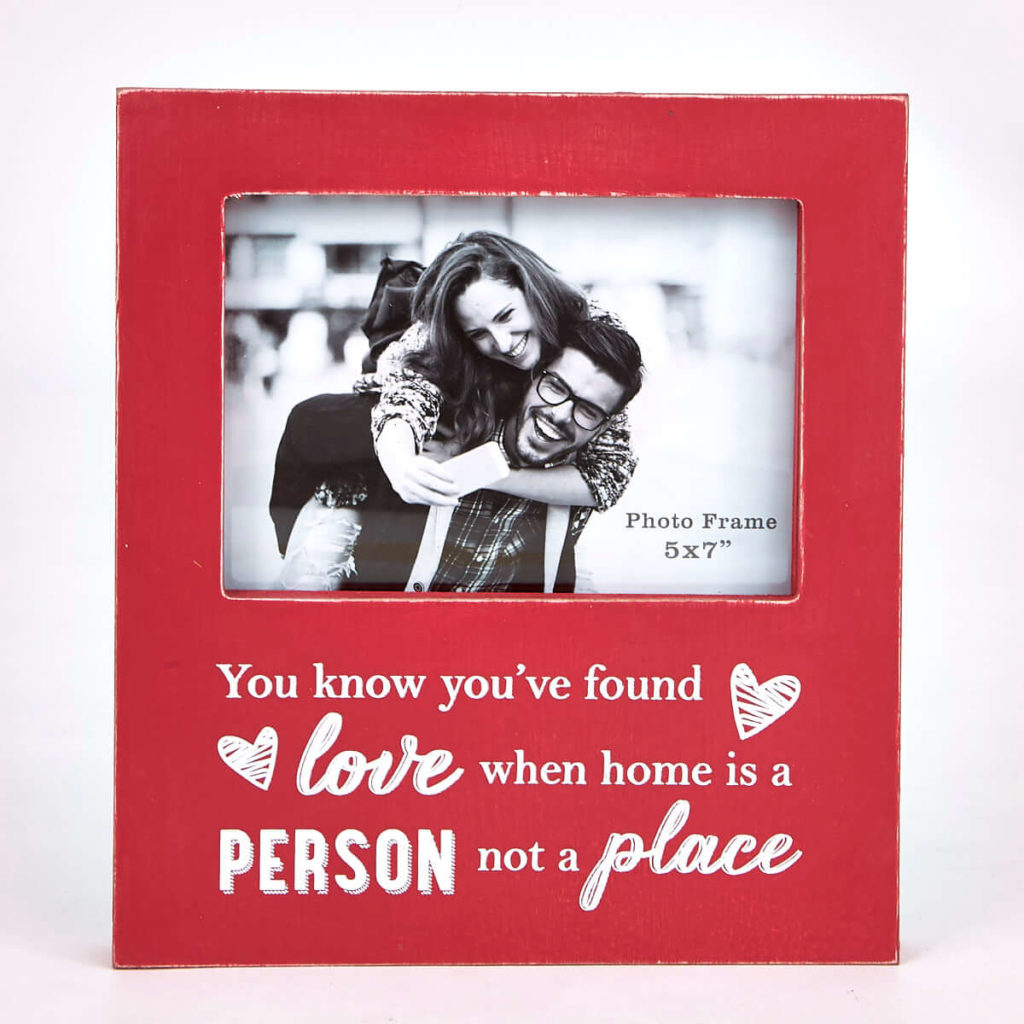 Hugs & Kisses Personalized Frame