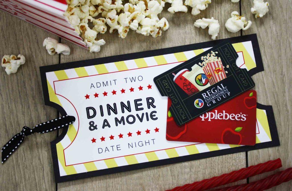 Popcorn Date Invite