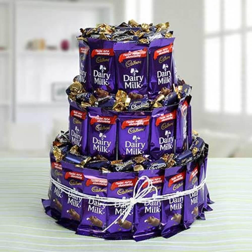 Three Layer Chocolaty Wishes