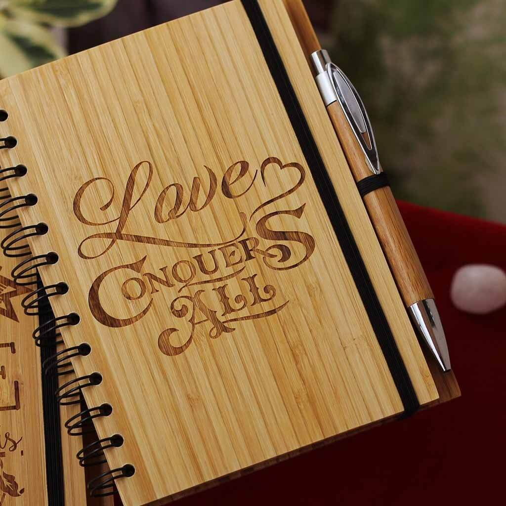 Wood You Be Mine Notebook