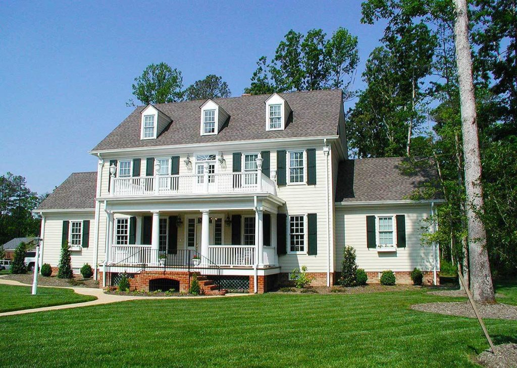colonial style homes