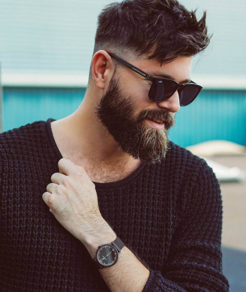 hair and beard styles for men 24 best beard styles for 2018 14th is virat kohli s 2879 | Cool Beard Shape 863x1024