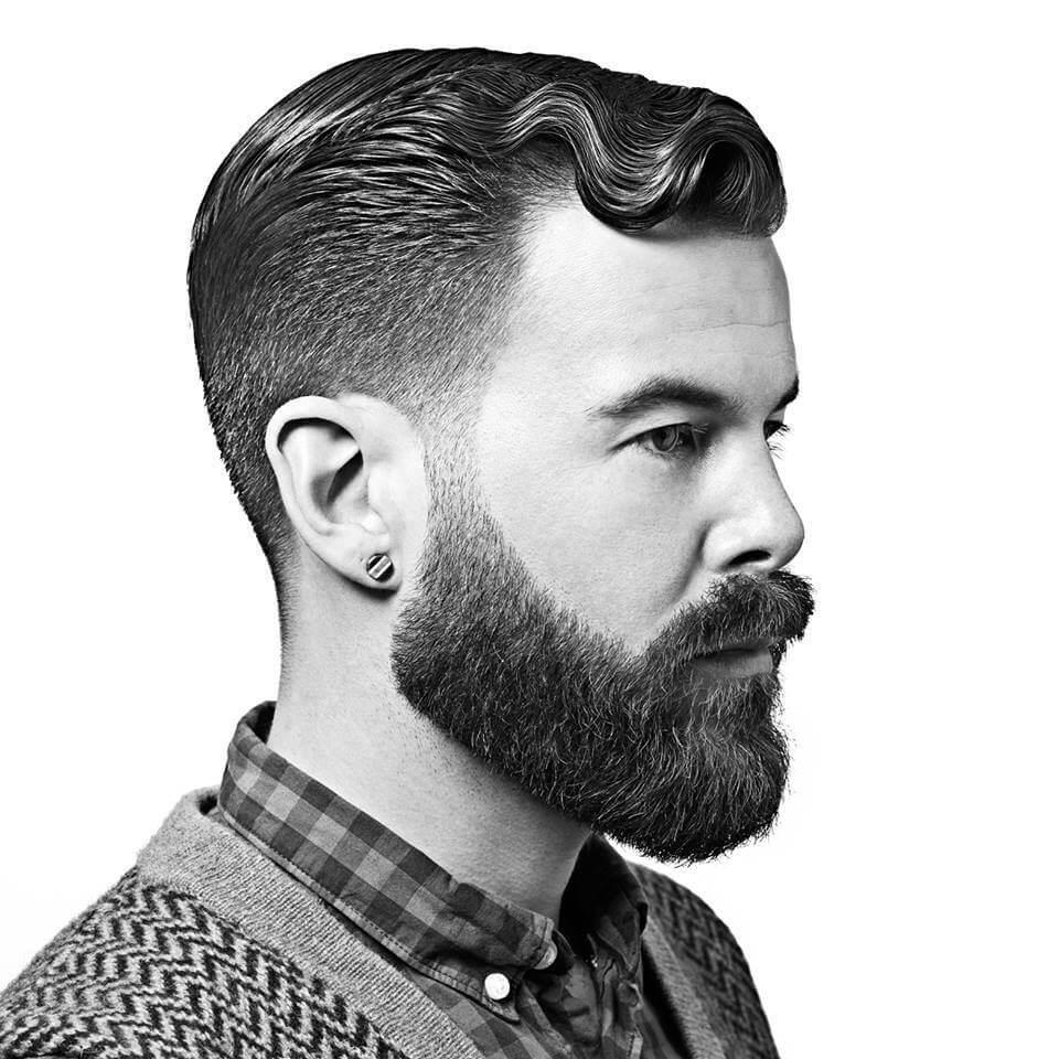 Short Thick Beard