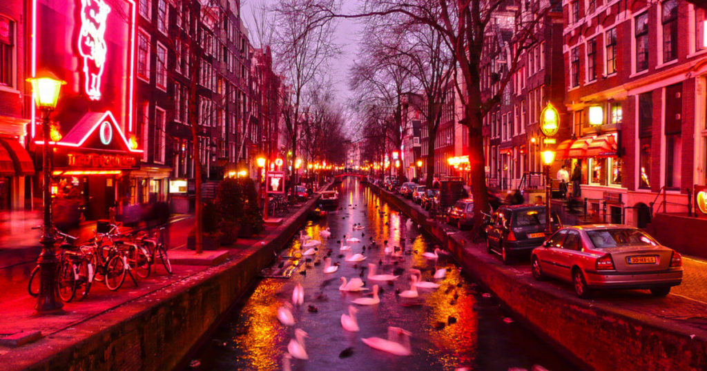 Visit The Red Light District Area