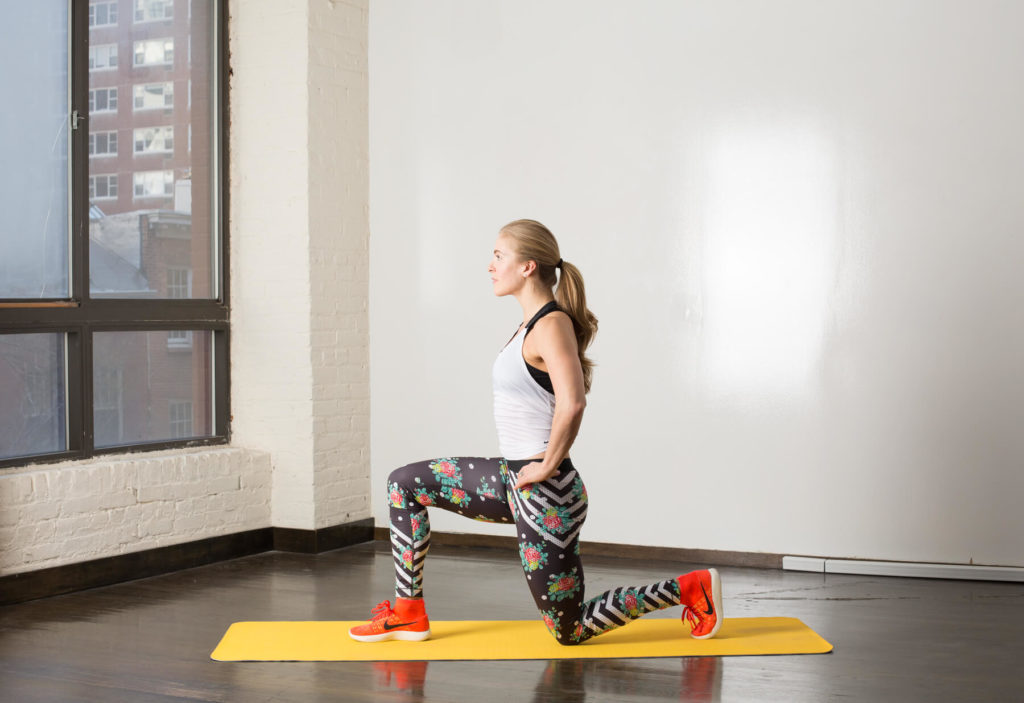 Warm-Up: Reverse Lunges