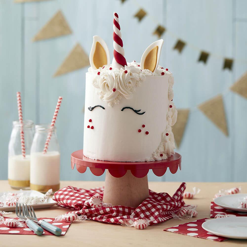Winter Babies- Peppermint Themed Cake
