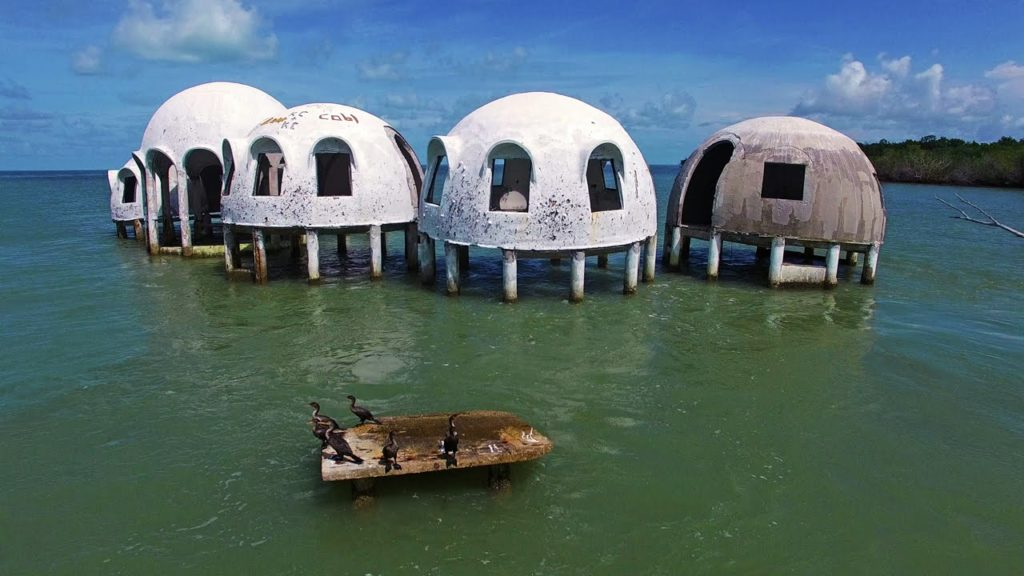 Cape Romano Dome Homes most beautiful places To visit In florida
