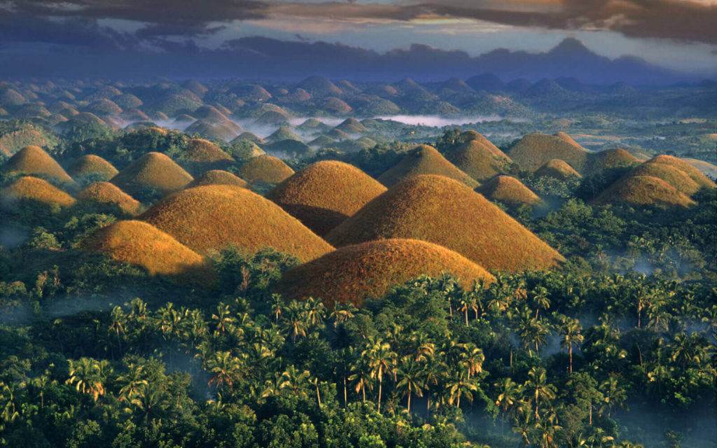 Chocolate Hills, Bohol tourist spots in the philippines