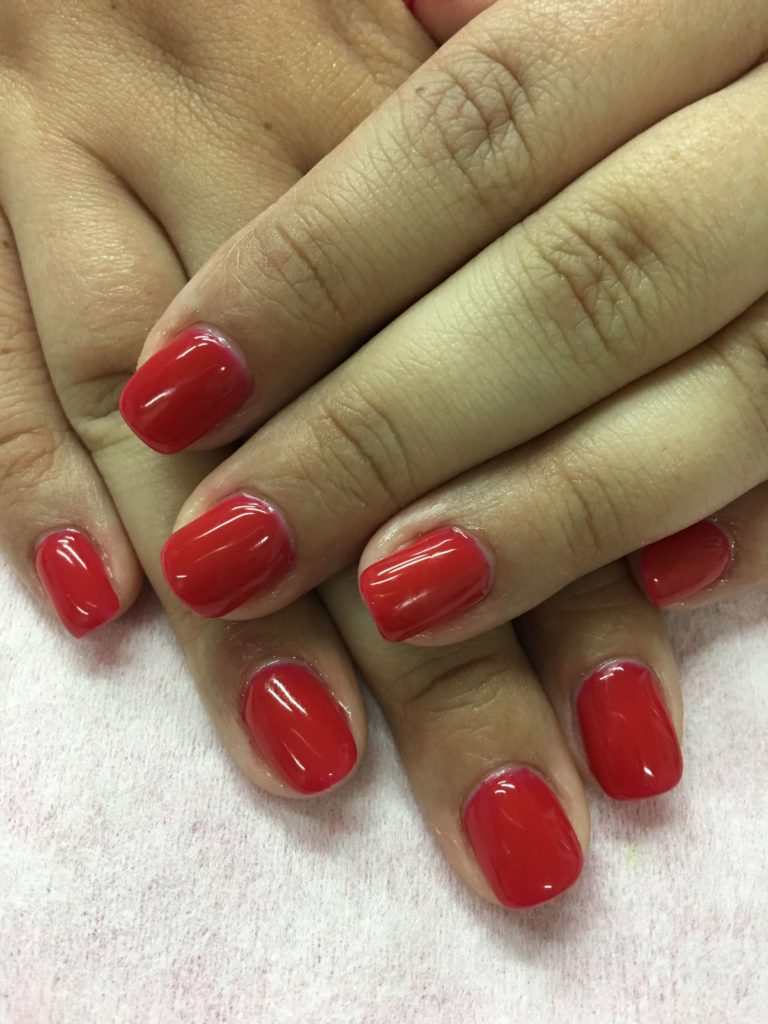 Classic Red nail designs 2018