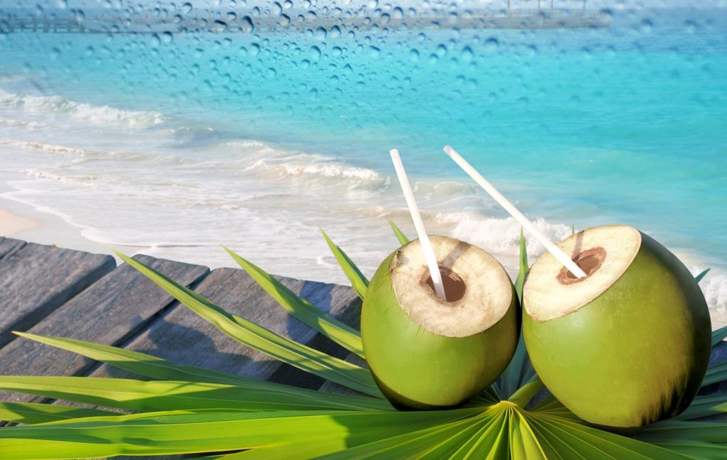 Coconut Water-Summer Season Fruits