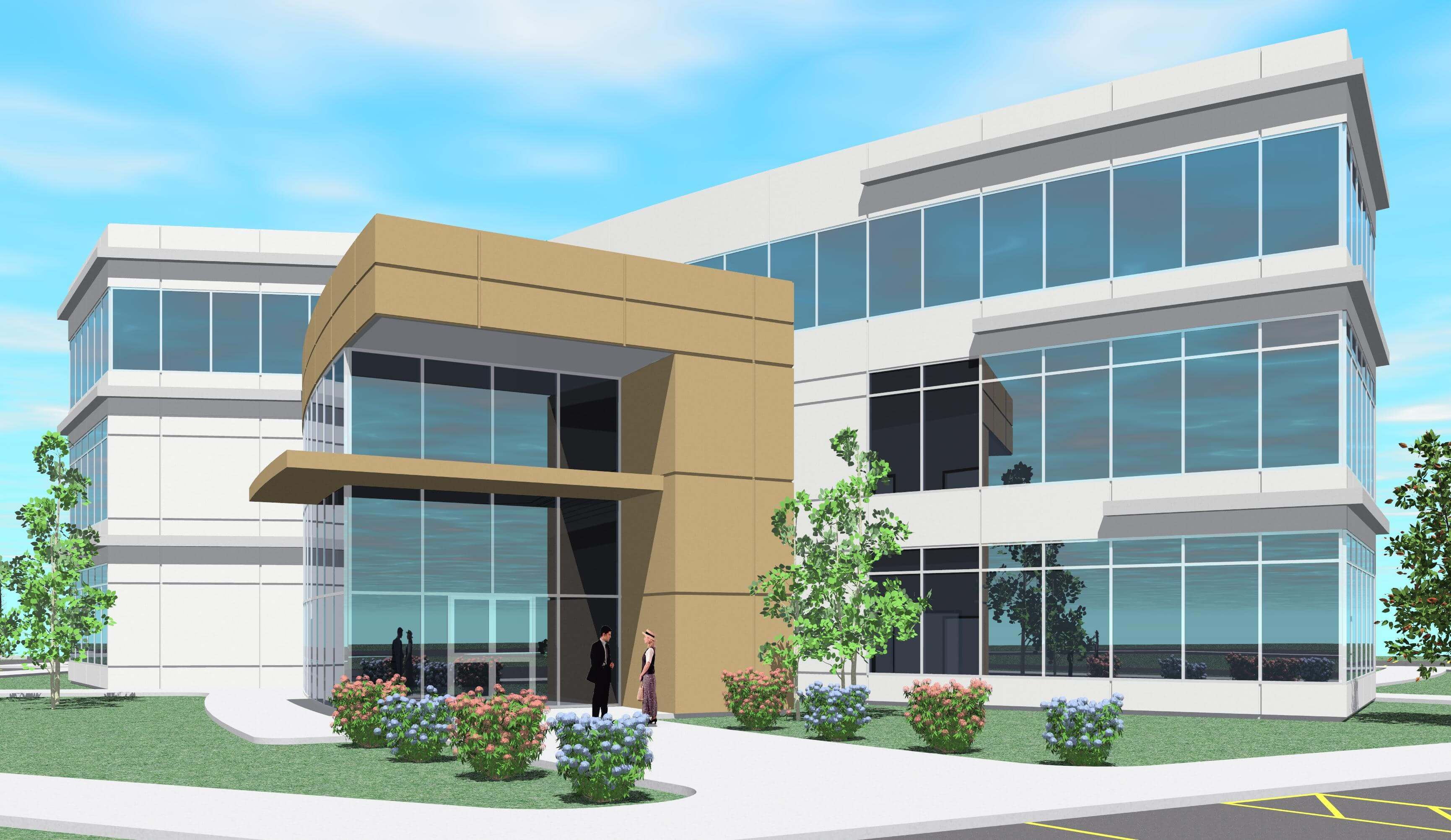 25+ Small Modern Commercial Building Design Ideas | Live ...