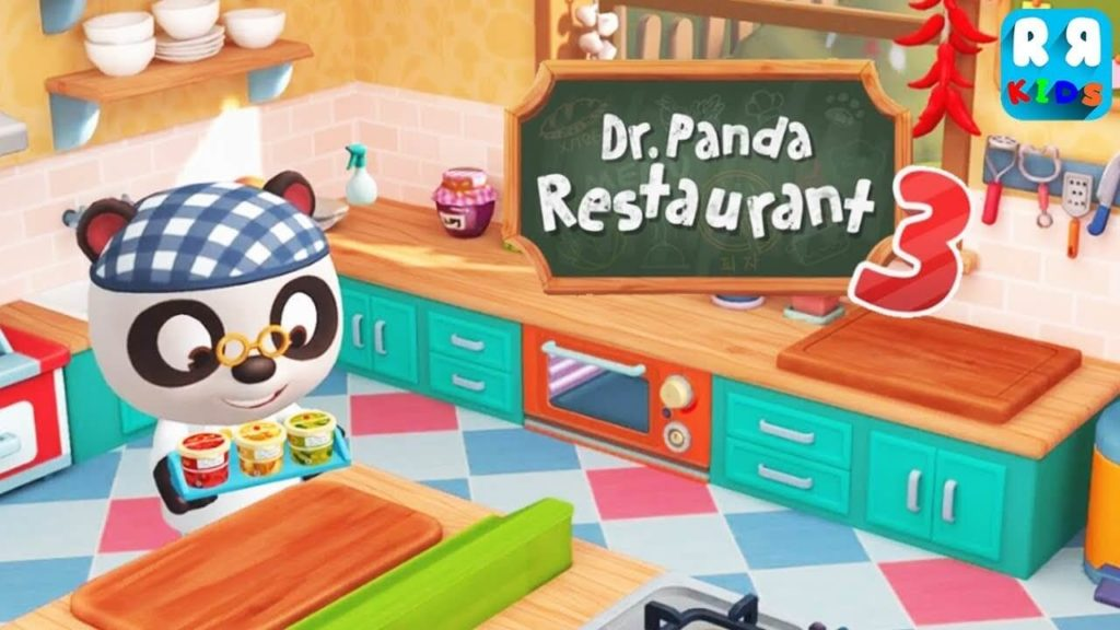 Dr Panda Restaurant 3-Best iPad Games For 4 Year Olds