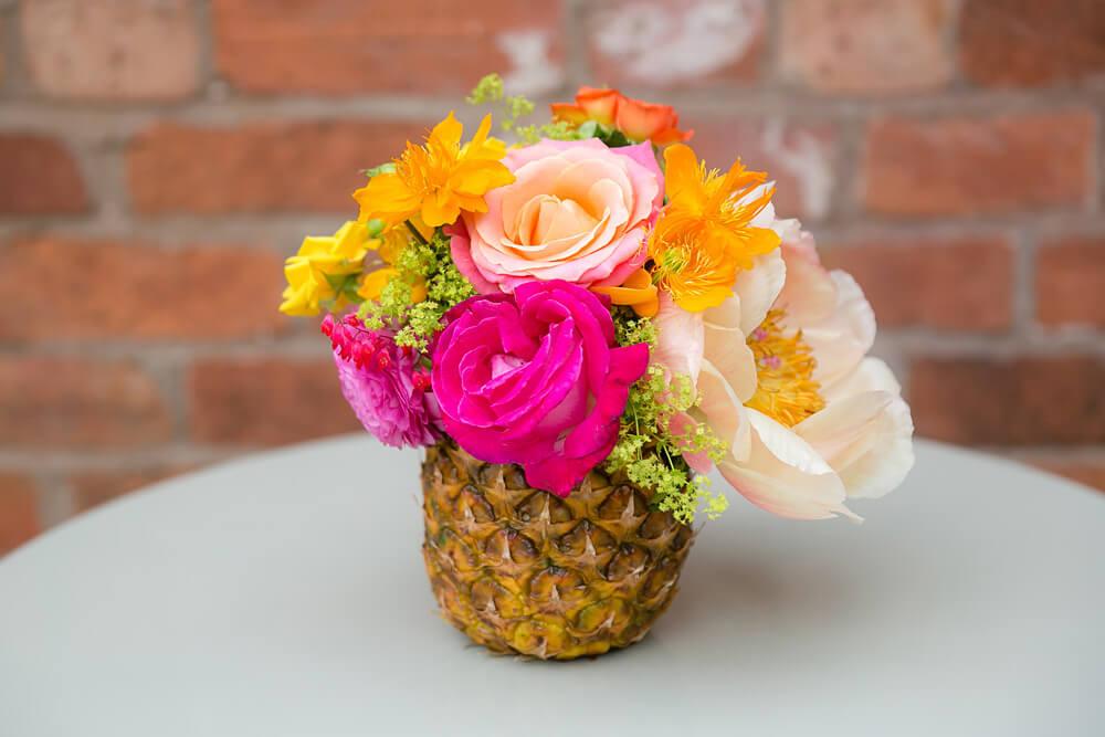 Fruit and Floral Arrangement
