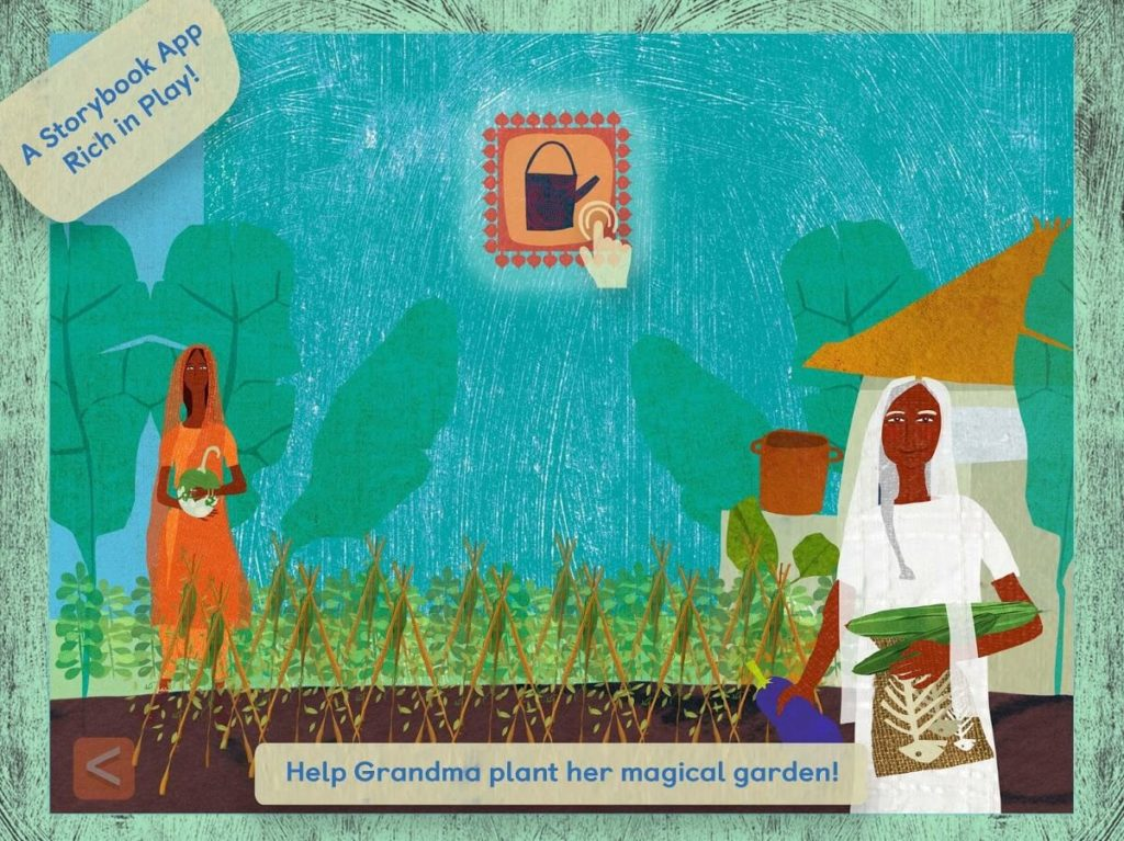 Grandma's Great Gourd-Best iPad Games For 4 Year Olds