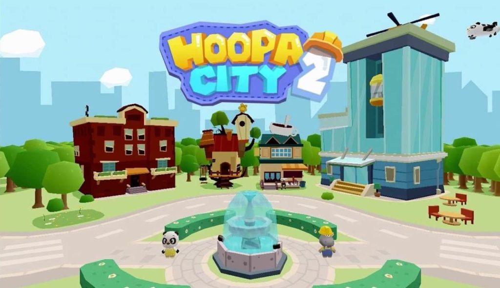 Hoopa City 2-Best iPad Games For 4 Year Olds