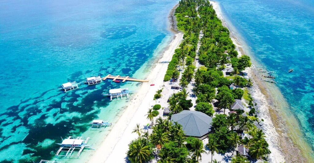 Kalanggaman Island, Leyte tourist spots in the philippines