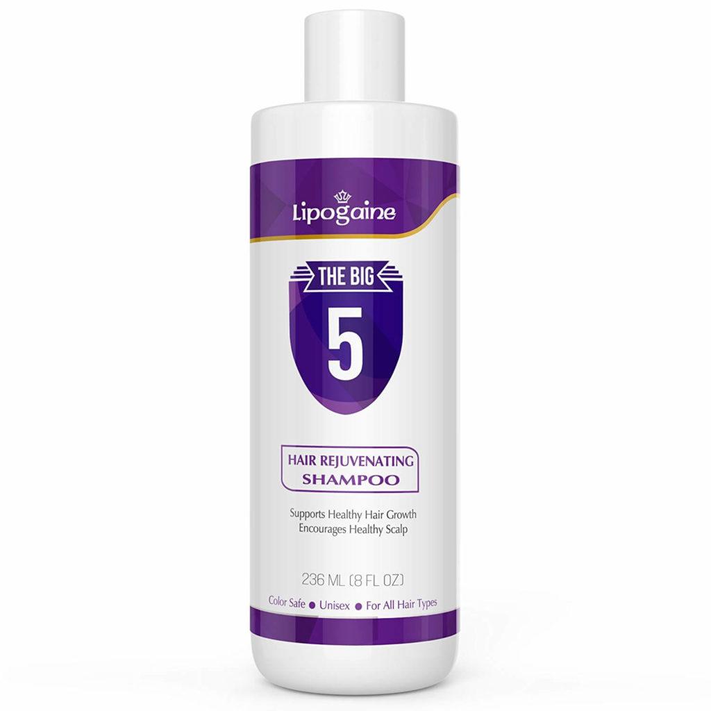 Lipogaine Big 5 hair growth shampoo