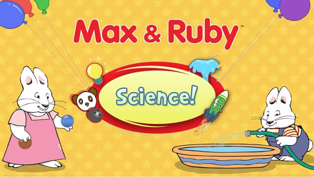 Max & Ruby Science-Best iPad Games For 4 Year Olds