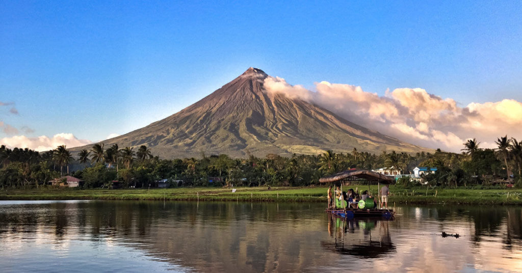 Mayon Volcano, Albay tourist spots in the philippines
