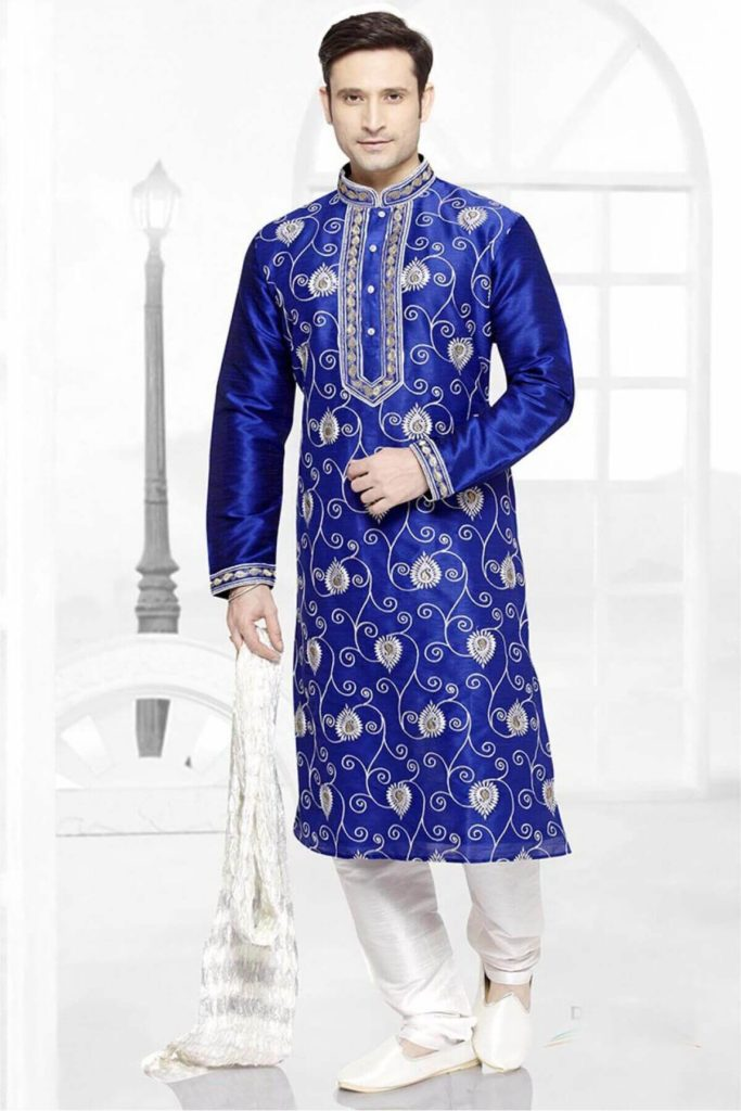 Perfectly Crafted Blue Indo Western Dresses
