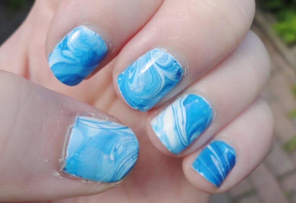Pool Reflection nail designs 2018
