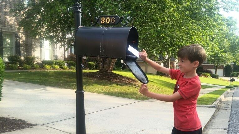 Put a Surprise in The Mailbox
