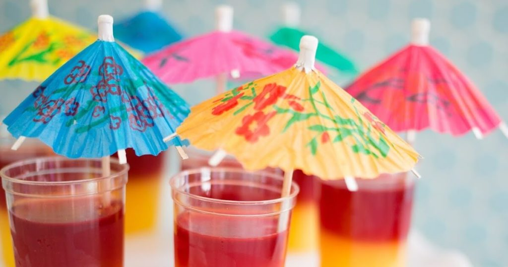 Serve up a Glass of Juice That is Really Jell-O