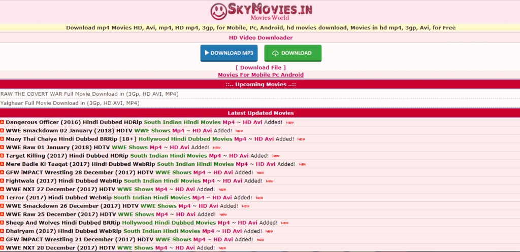 Skymovies-Hindi Movie Download Site