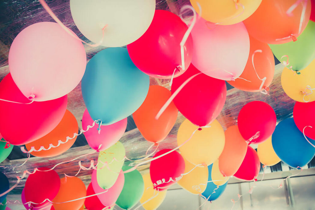 Throw Them a Surprise Balloon Party