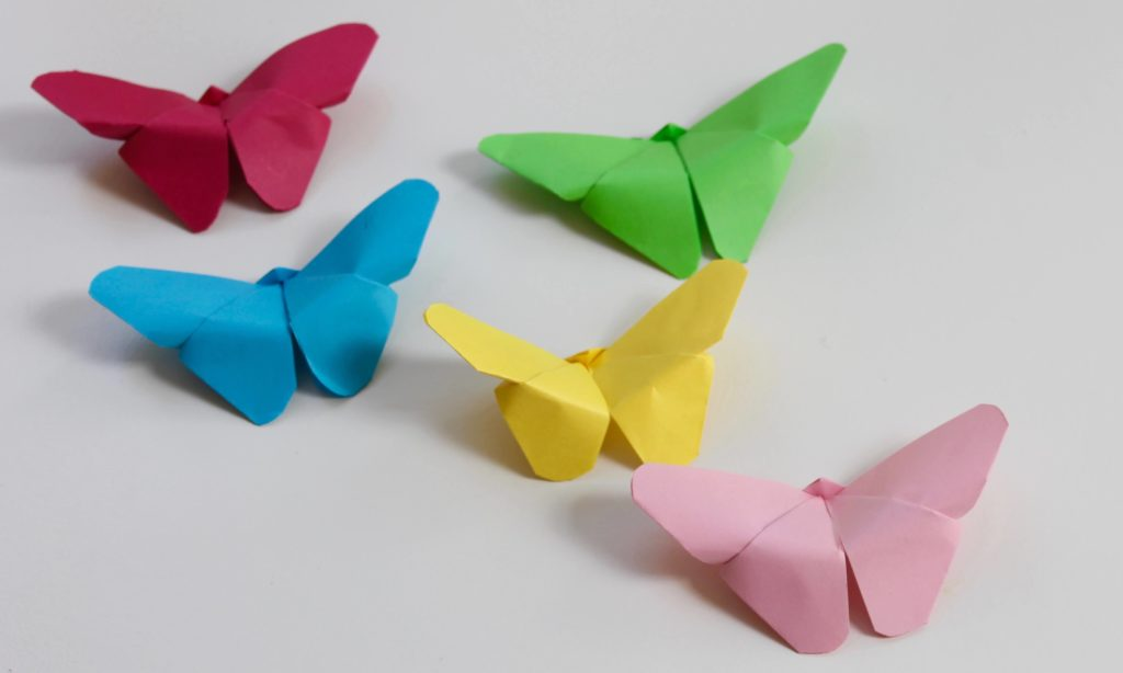 paper butterflies diy paper crafts