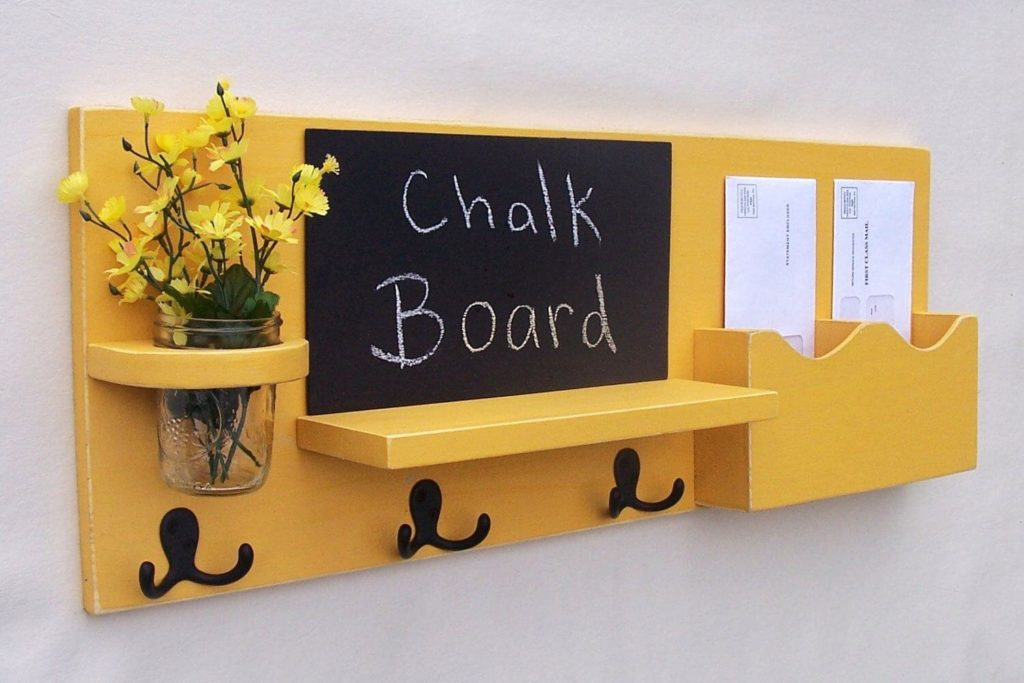 Chalkboard DIY diy Key Holder