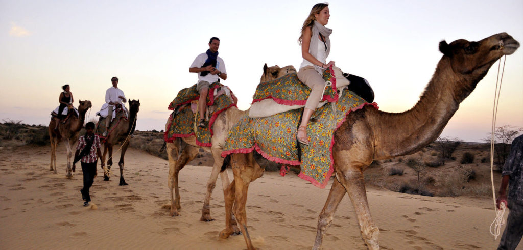 Desert of Jaisalmer - tourist places in india