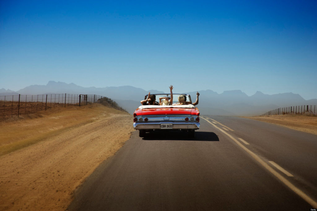 Go On a Road Trip-travel bucket list