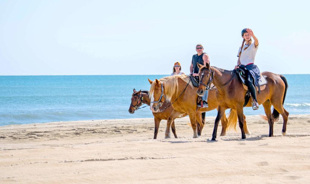 Horseback ride on the beach-travel bucket list