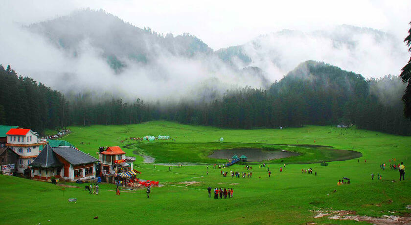 Khajjiar - tourist places in india