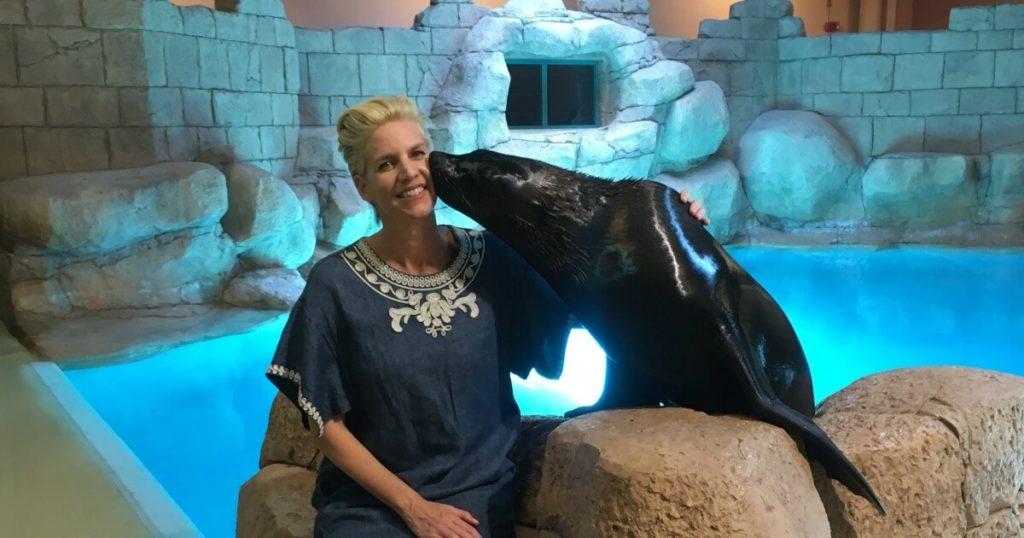 Kiss a sea lion-travel bucket list