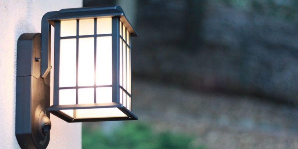 Kuna Smart Home Security Outdoor Light & Camera - smart home devices