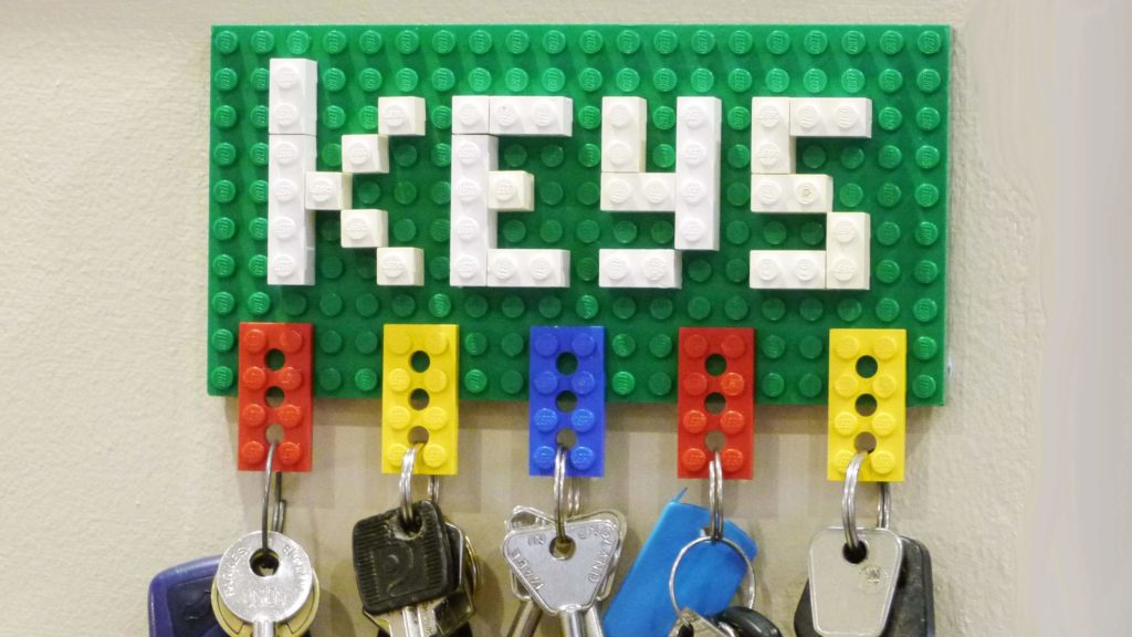 Lego diy Key Holder