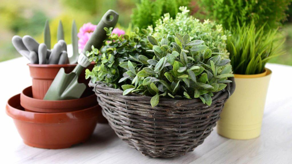Reinventing the Wheel diy flower pot
